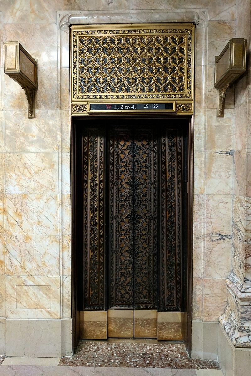 Woolworth Building Elevator