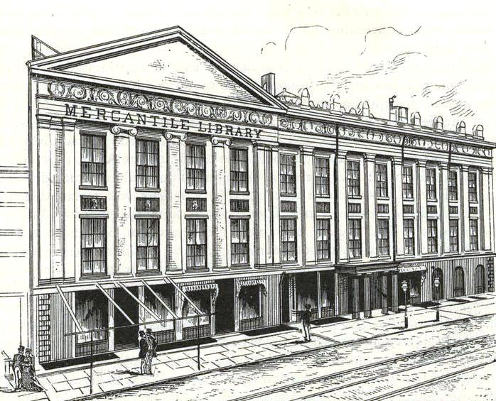 The Mercantile Library in theAstor Opera Housebuilding in 1886